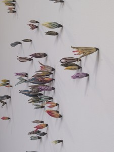 Laura Tabakman Growth Installation: Polymer clay