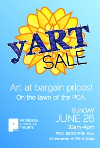 yART Sale @ Pittsburgh Center for the Arts' lawn | Pittsburgh | Pennsylvania | United States