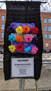 Yarn Bombing 101 - Crafts and Drafts @ Contemporary Craft