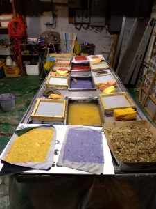 Papermaking 101, Instructor Katy DeMent @ Katy's Swissvale studio