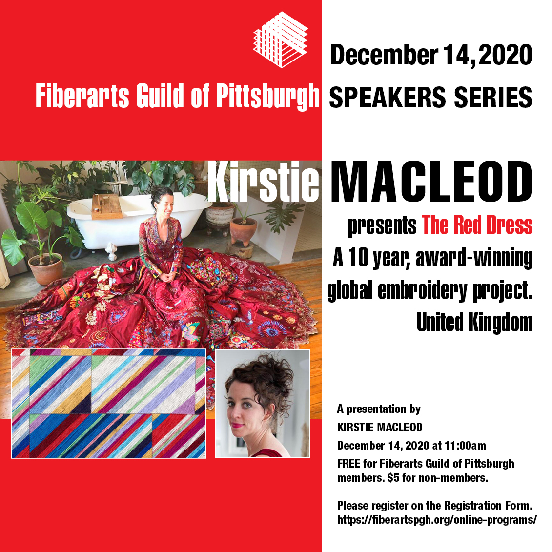 Kristie Macleod lecture announcement