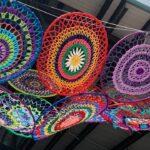 outdoor installation by Cheryl Hopper