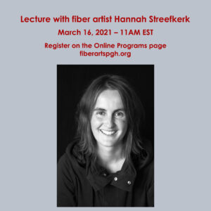 Lecture lecture with Hannah Streefkerk @ Online